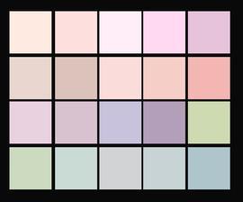 farebna schema francuzskeho stylu
