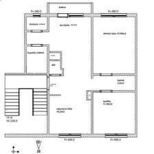 nová dispozícia bytu