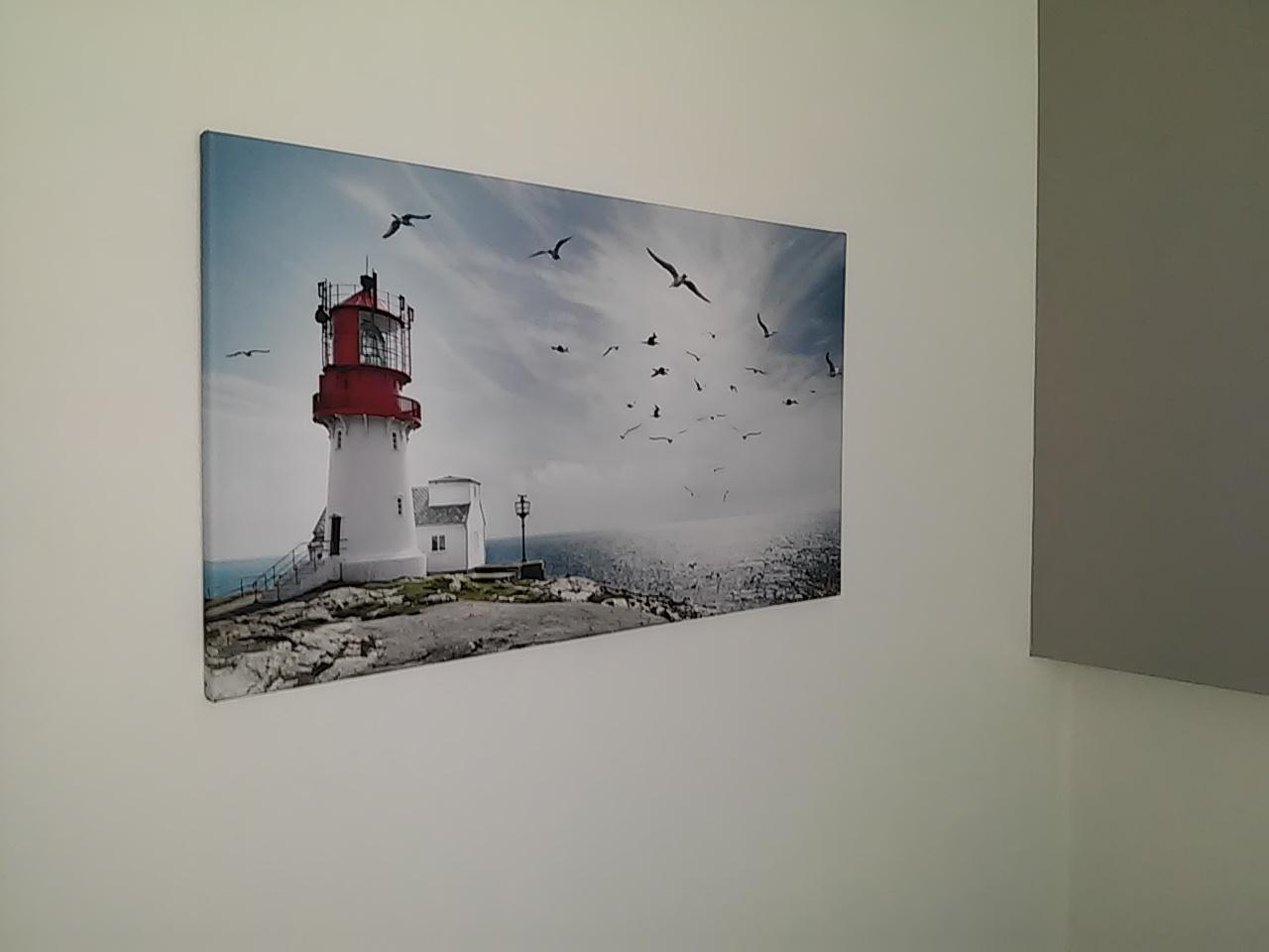 Zariaďujeme_Spálňa - vytuzeny obraz uz na stene 😍