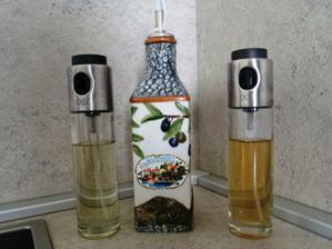 nieco na pamiatku z dovolenky- flaska na olivovy olej