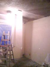 natahovanie sietky na stropy, to bola fuska