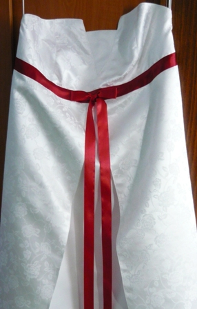 Tehotenske svadobne šaty - Obrázok č. 2