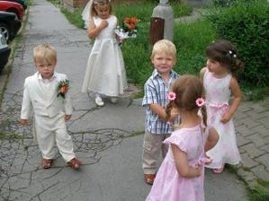 Naši nejmenší svatebčané