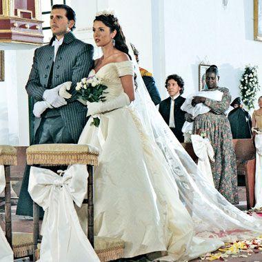Svatby z filmů :) - Esmeralda a Diego ze Zorro: Meč a růže