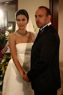 Svatby z filmů :) - Tisíc a jedna noc Šeherezáda a Onur jejich 1.svatba