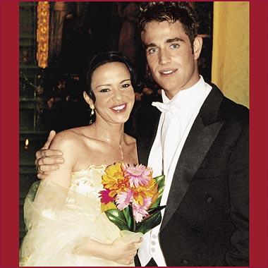 Svatby z filmů :) - Plameny vášně » Sara a Franco