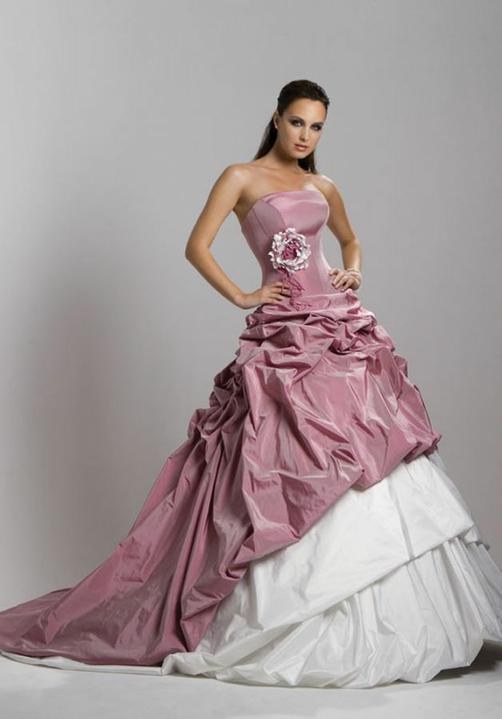Svatební šaty - růžové i červené až do bordó - Obrázek č. 50