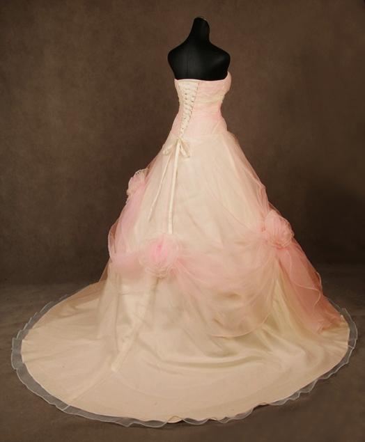 Svatební šaty - růžové i červené až do bordó - Obrázek č. 526