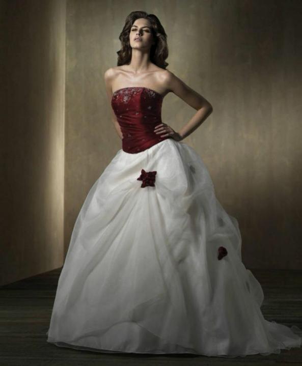Svatební šaty - růžové i červené až do bordó - Obrázek č. 51