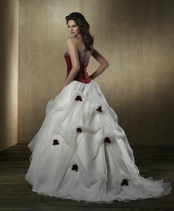 Svatební šaty - růžové i červené až do bordó - Obrázek č. 52