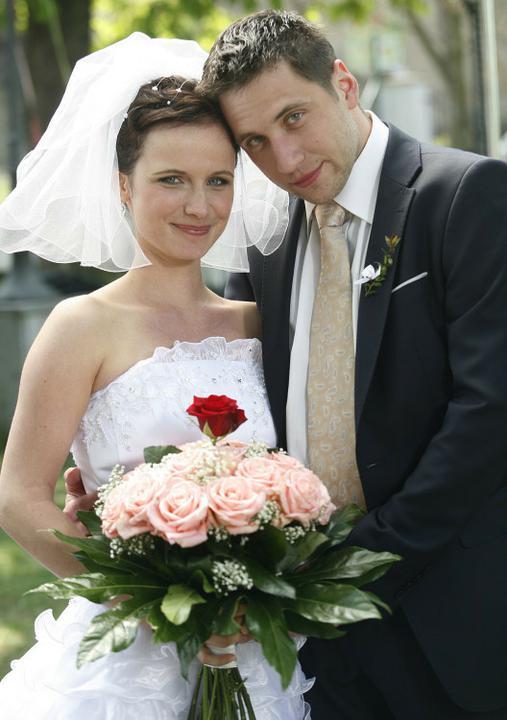 Svatby z filmů :) - Ordinace v růžové zahradě (Martina Tvrdíková a Oskar Všetečka)