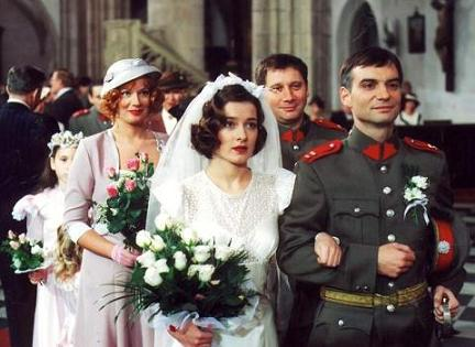 Svatby z filmů :) - dvojitá svatba - Četnické humoresky