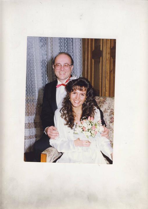 Svatby českých a slovenských osobností - Petr Janda a Martina Jandová 1992