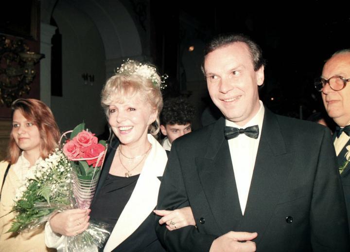 Svatby českých a slovenských osobností - Hana Zagorová a Štefan Margita 1992