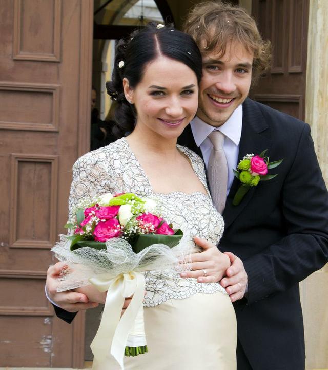 Svatby z filmů :) - Ordinace v růžové zahradě 2 - Svatba Gábiny a Filipa