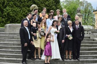 poslední klapka Vyprávěj a také poslední svatba :)