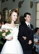 Karla Mráčková a její manžel Josef (1991)