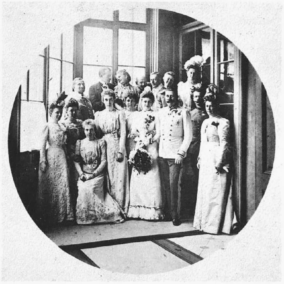 Svatby českých a slovenských osobností - Arcivévoda František Ferdinand s Žofií Chotkovu