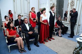 Svatby v Benátkách - doktorka Míša Krátká a Šimon Hybš