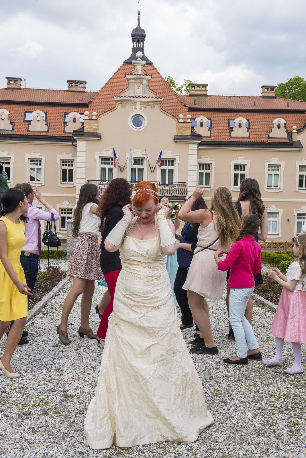 Svatby z filmů :) - Ordinace v růžové zahradě 2 (Babeta)