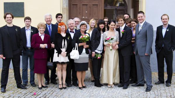 Svatby z filmů :) - Ordinace v růžové zahradě 2 (Gábina a Filip)