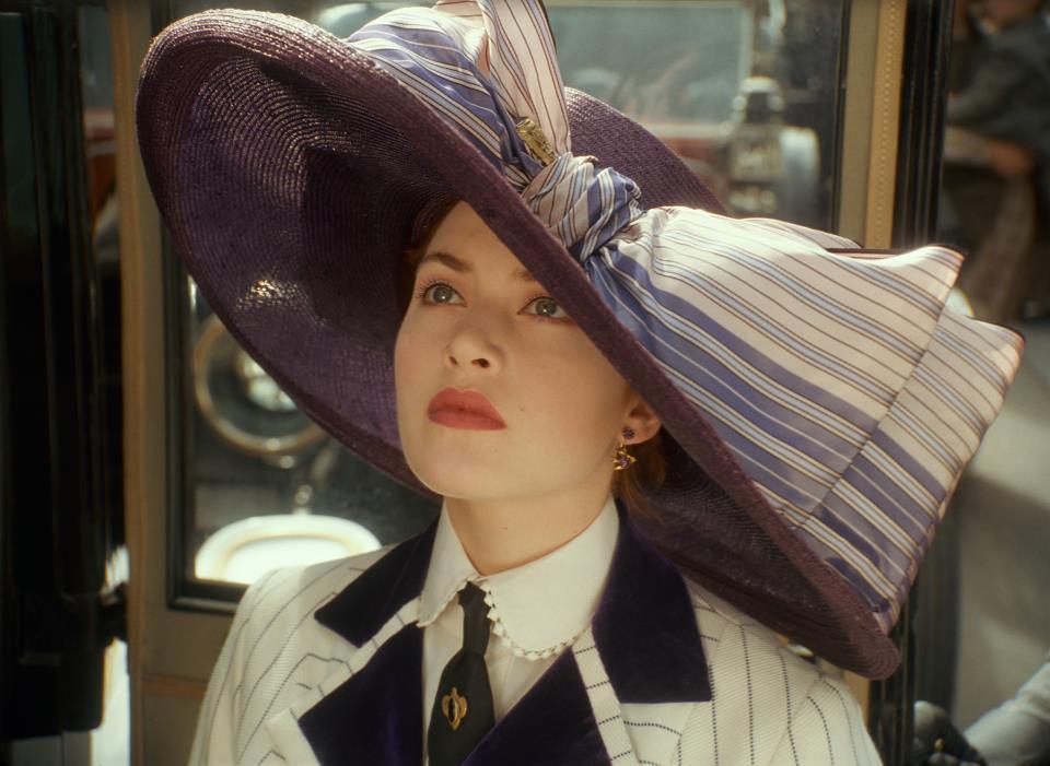 Krásné šatičky z filmu a pohádky - Titanic - krásný klobouk
