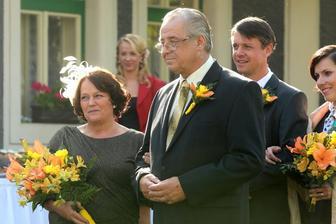 Svatby v Benátkách - pošťačka Boženka a učitel Šrámek