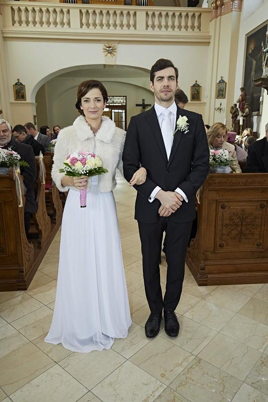 Svatby z filmů :) - Ordinaci v růžové zahradě 2 (Bibi Mrázková