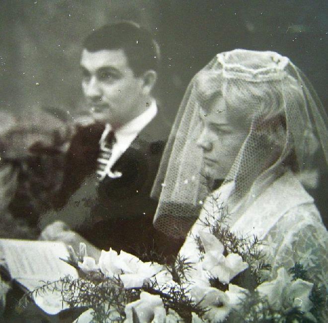 Svatby českých a slovenských osobností - Eva Pilarová a hudebník Milan Pilar 1960