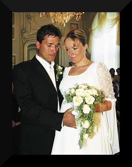 Svatby českých a slovenských osobností - Alena Antalová & Josef Juráček- 24.9.2005