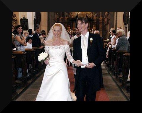 Svatby českých a slovenských osobností - Jiří Strach & Magdalena Stupková-24.června 2006
