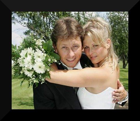 Svatby českých a slovenských osobností - Pavel Kožíšek & Lucie Panošová-7.7 2006