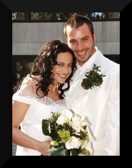Svatby českých a slovenských osobností - Lucie Bílá & Václav Bárta- 7.4. 2006