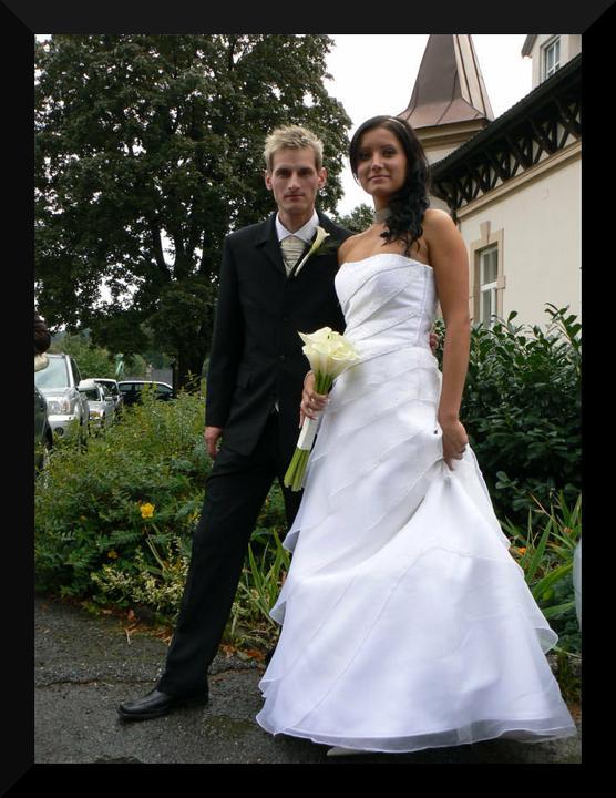 Svatby českých a slovenských osobností - Jakub Janda & Lucie Klimparová 1. září 2007