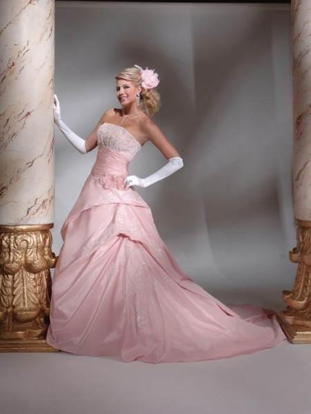 Svatební šaty - růžové i červené až do bordó - Obrázek č. 33