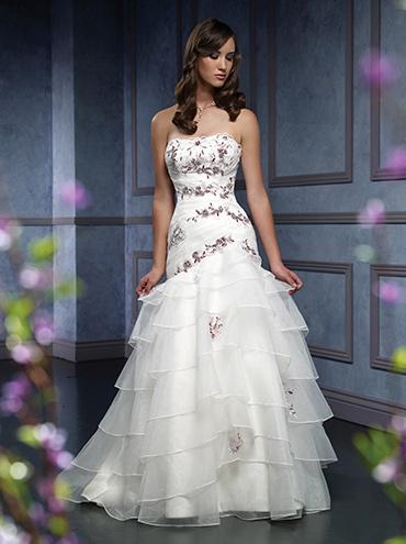 Svatební šaty - růžové i červené až do bordó - Obrázek č. 522