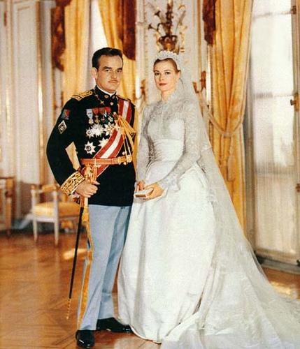 Svatby celebrit - Princ Rainier a Grace Kelly (1956)