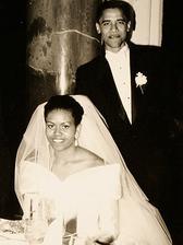 Barack Obama a Michelle LaVaughn Robinson (1992)