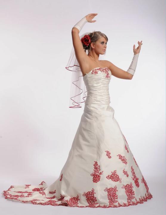 Svatební šaty - růžové i červené až do bordó - Obrázek č. 35