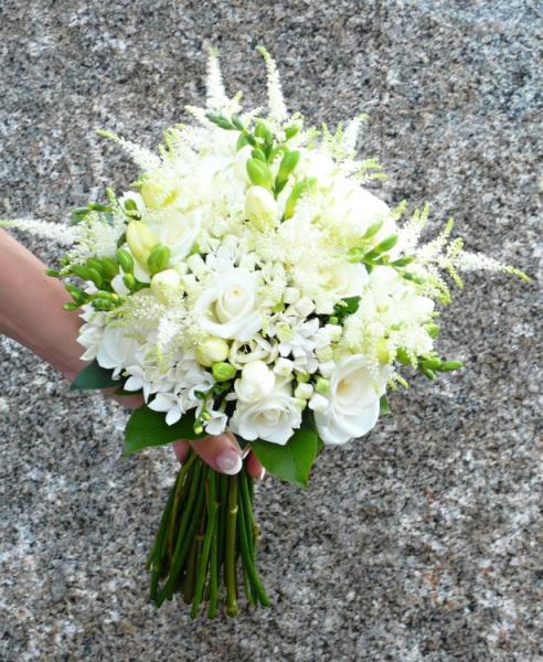 """Kytice, co se mi líbí - také super kombinace květů! Tak akorát """"roztřepený"""" tvar :-)"""
