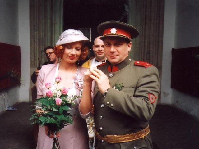 Svatby z filmů :) - Manželství Karla Arazíma a Ludmily Horké