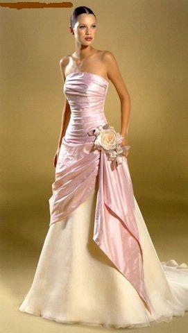 Svatební šaty - růžové i červené až do bordó - Obrázek č. 527