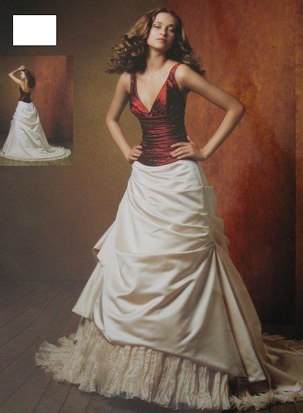 Svatební šaty - růžové i červené až do bordó - Obrázek č. 16