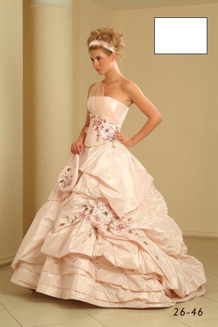 Svatební šaty - růžové i červené až do bordó - Obrázek č. 530
