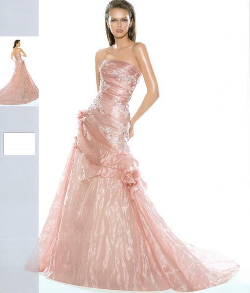 Svatební šaty - růžové i červené až do bordó - Obrázek č. 532