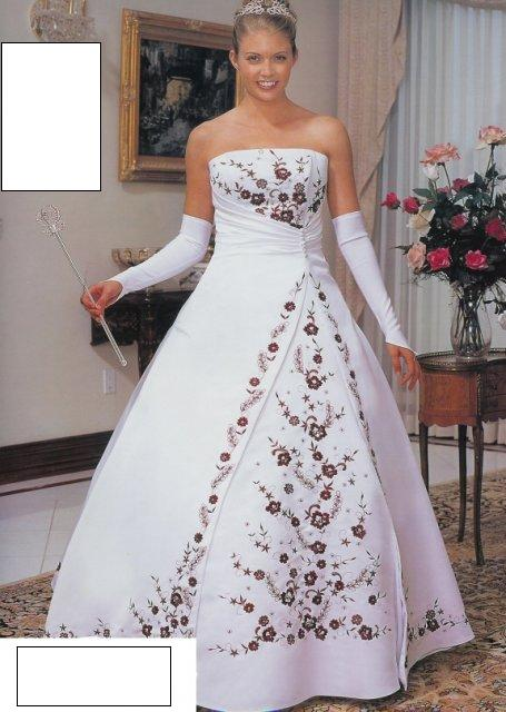 Svatební šaty - růžové i červené až do bordó - Obrázek č. 29