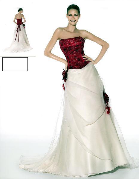 Svatební šaty - růžové i červené až do bordó - Obrázek č. 15