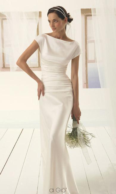 Inspiracie - svadobne saty - Le Spose di Gio - Classic 26 - v jednoduchosti je krasa - dokonaly priklad