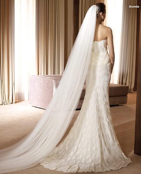 Inspiracie - svadobne saty - Pronovias 2011 - Costura collection - Aranda B - zavoj by som uplne zrusila