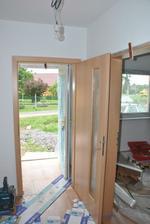 Prosklené dveře do chodby